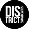 DISTRICT snowboards