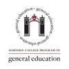 Harvard Program in Gen Ed