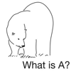 What is A?