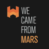 We came from Mars