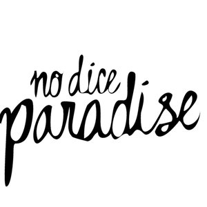Profile picture for No Dice Paradise