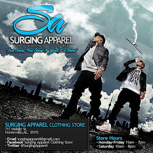 Profile picture for Surging Apparel