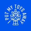 I put my toys away
