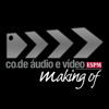 Making Of CO.DE Áudio e Vídeo