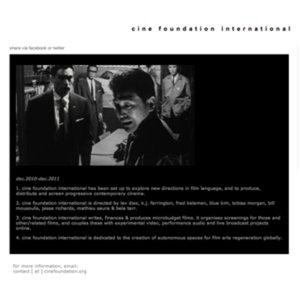 Profile picture for Cine Foundation International