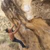 Toni Gonzalez bouldering