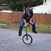 Unicycle addict