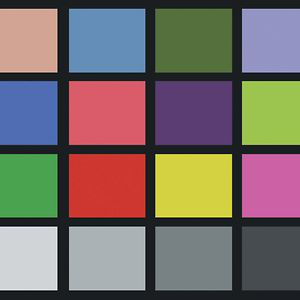 color chart on vimeo