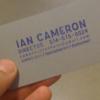 Ian Cameron