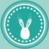 conejo con corona