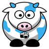 Big Blue Cow