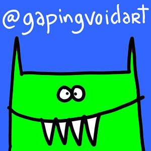 Profile picture for Gapingvoid