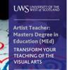 UWS Artist Teacher Programme