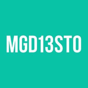 Profile picture for MGD13STO