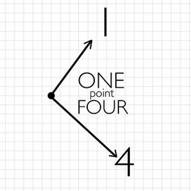 one point four on vimeo