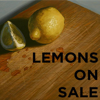 LEMONS ON SALE