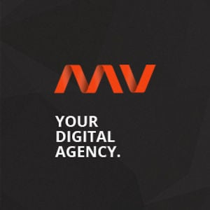 Profile picture for mv digital agency.