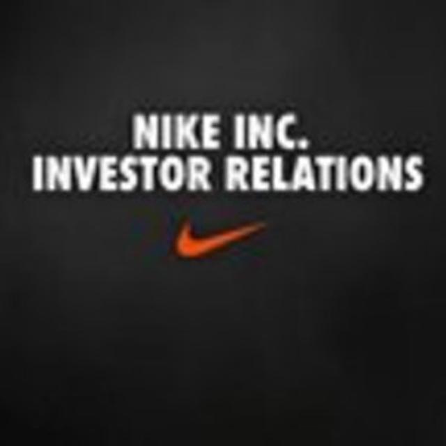Risa responder No puedo  NIKE, Inc. Investor Relations
