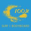 100% SURF E BODYBOARD