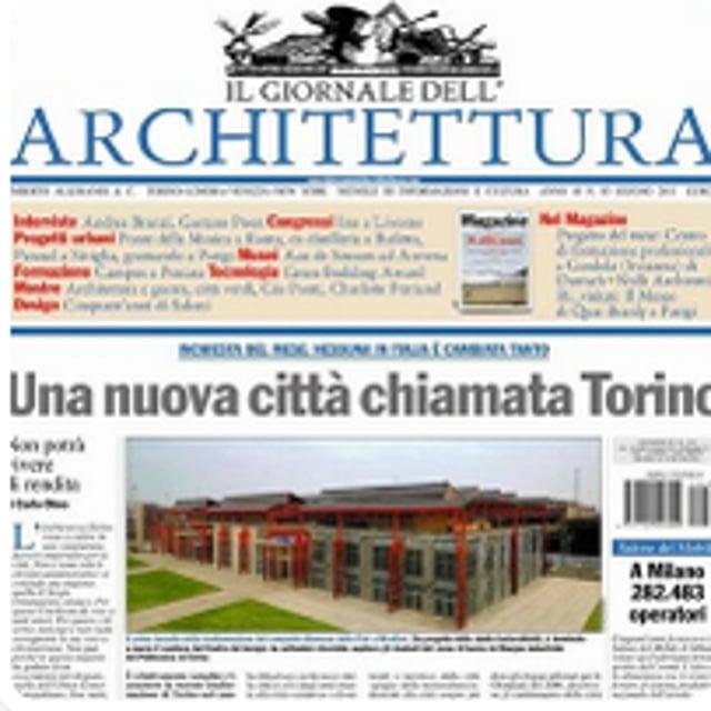 Il giornale dell 39 architettura on vimeo for Giornale architettura