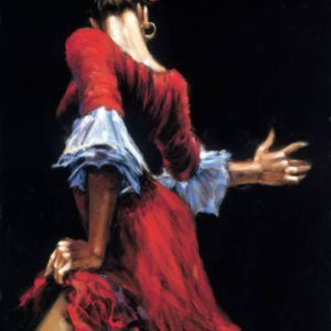 Profile picture for dancing girl