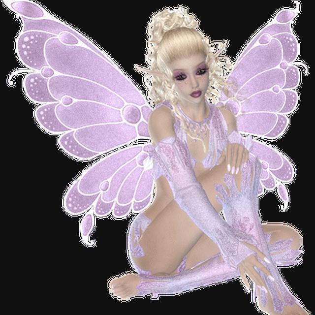 Живые открытки фея