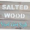 salted wood surf art