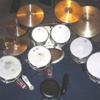 big drummer