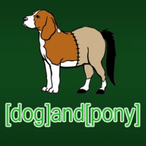 Profile picture for [dog]and[pony]