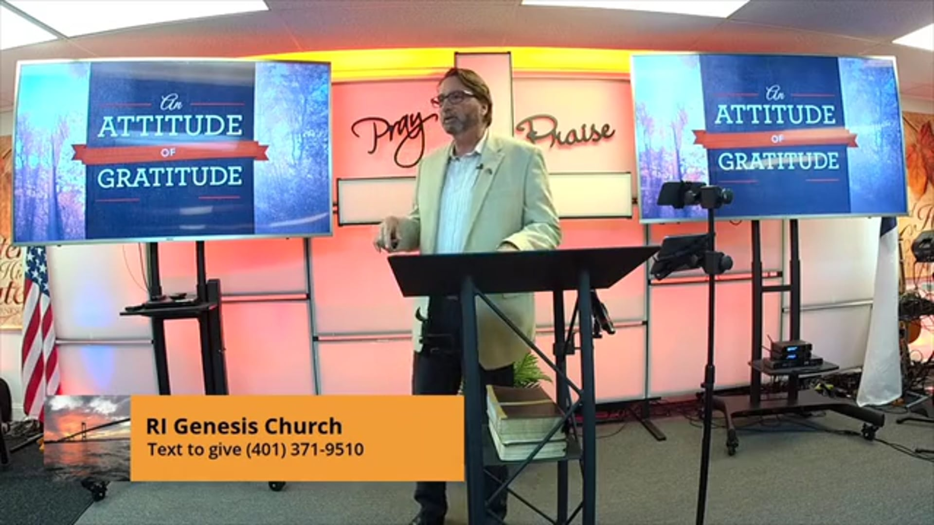 'Attitude of Gratitude' Pastor George Ellingwood Thanksgiving Message