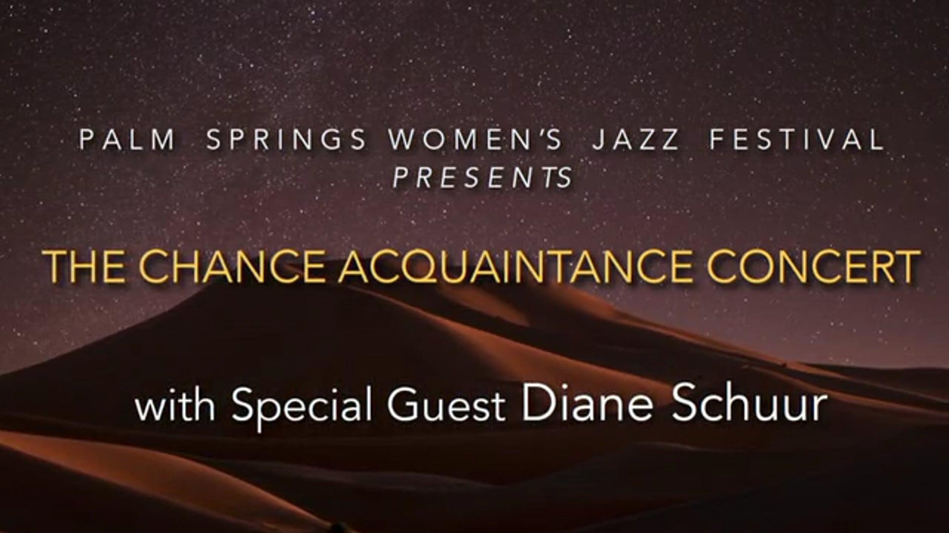 Chance Acquaintance Concert Revised 11.22.20