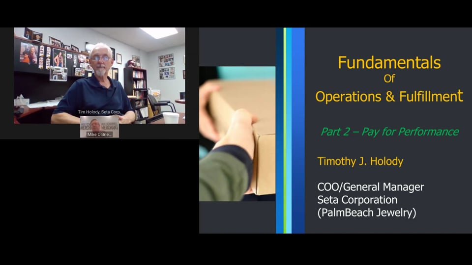 The Beauty of Pay-For-Performance Plans: Fundamentals Workshop, Part II