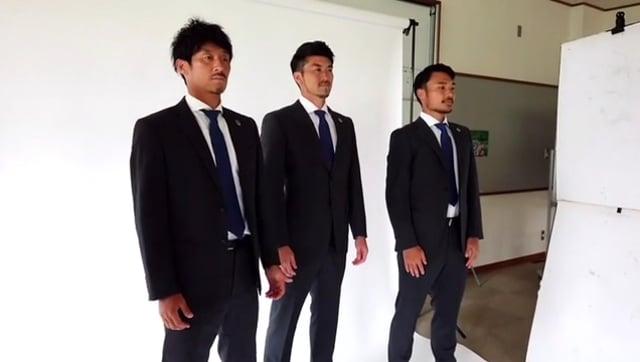 【メイキング】京成百貨店 スーツ撮影