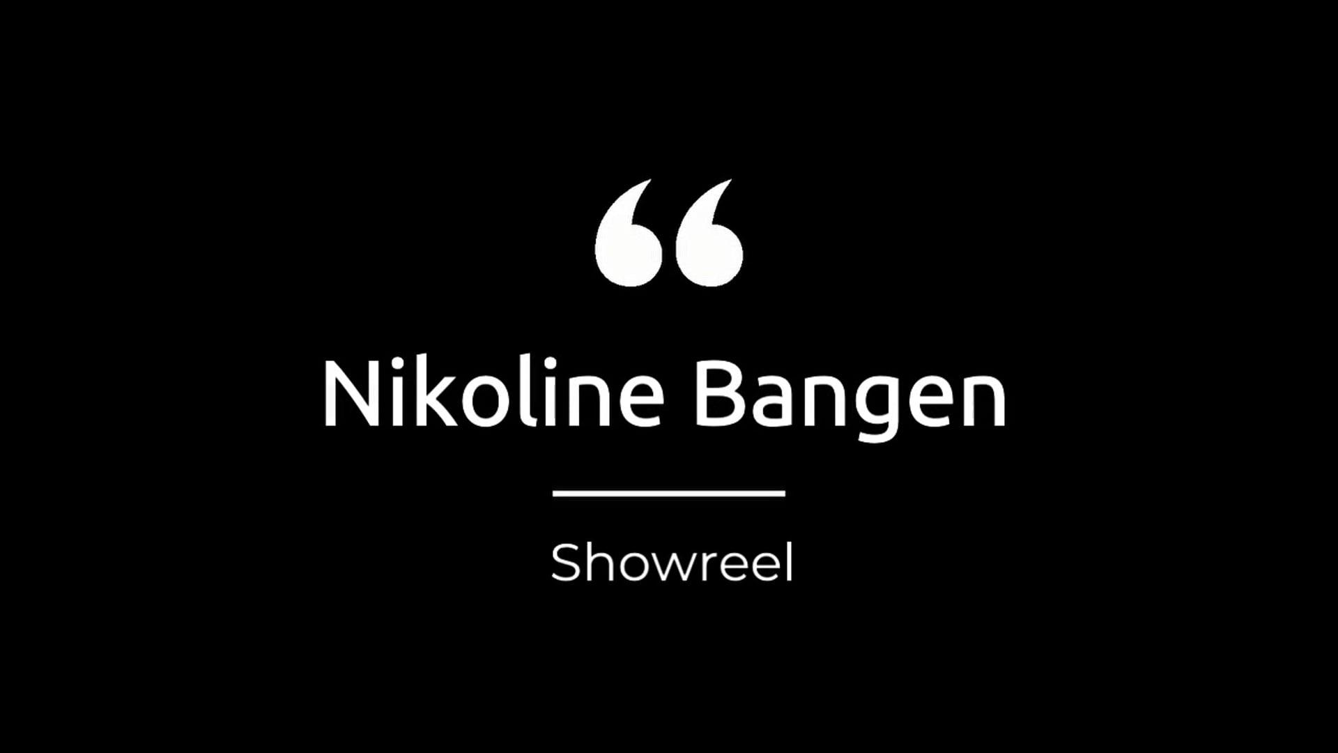 Intro & showreel