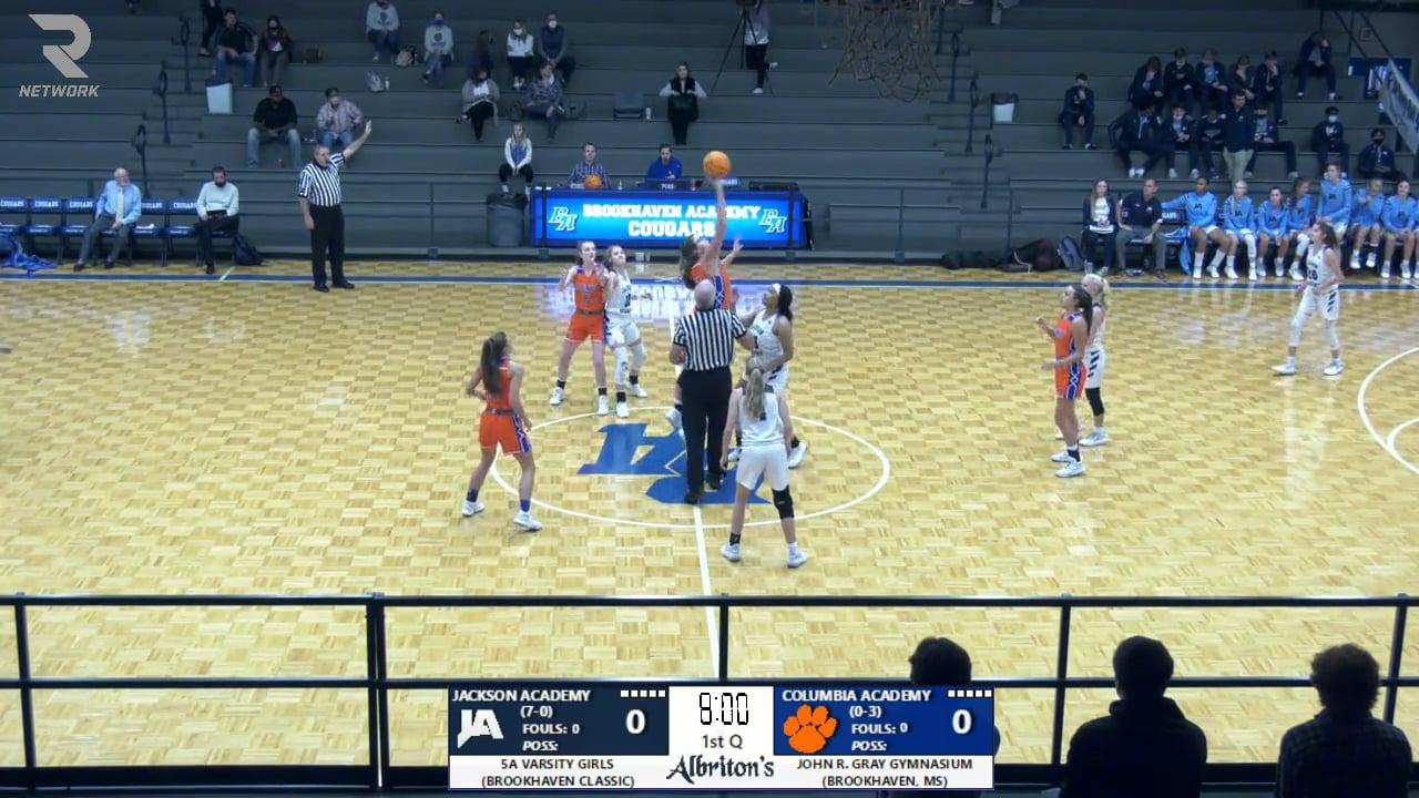 Varsity Girls Basketball vs Columbia - 11-23-20