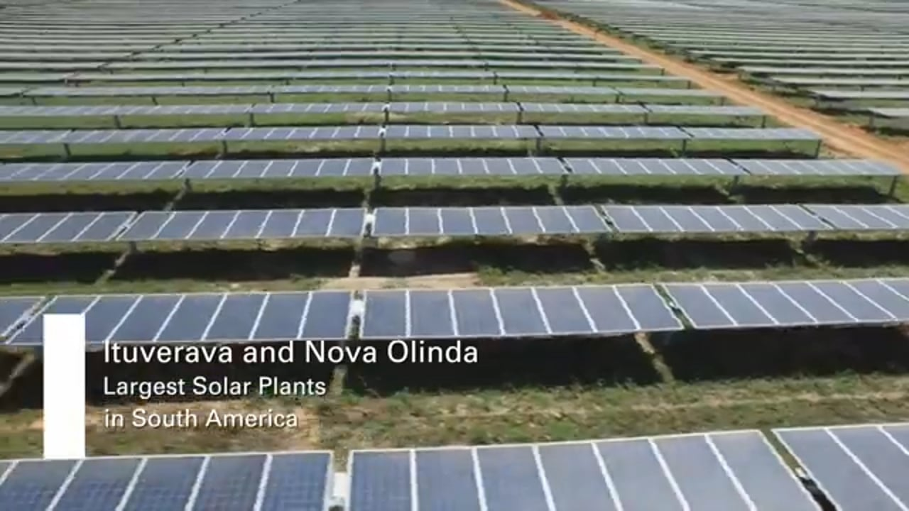 Largest solar plants in South America
