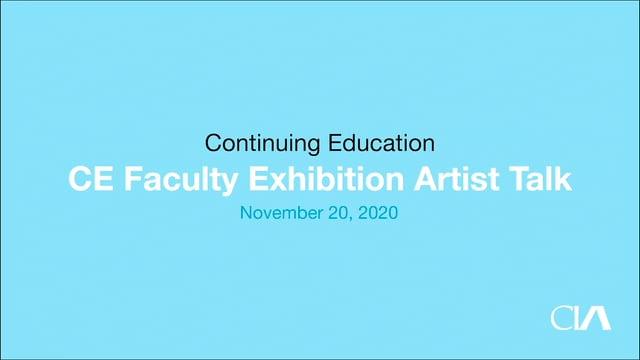 CECO 2020 Educators Artist Talk