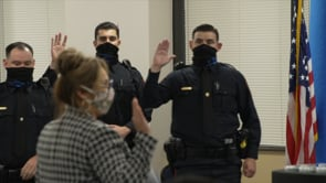 Police Academy Swearing-In
