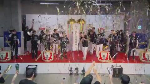【日本シリーズ優勝祝勝会ノーカット版】ホークスが4年連続の日本一!! 2020/11/25