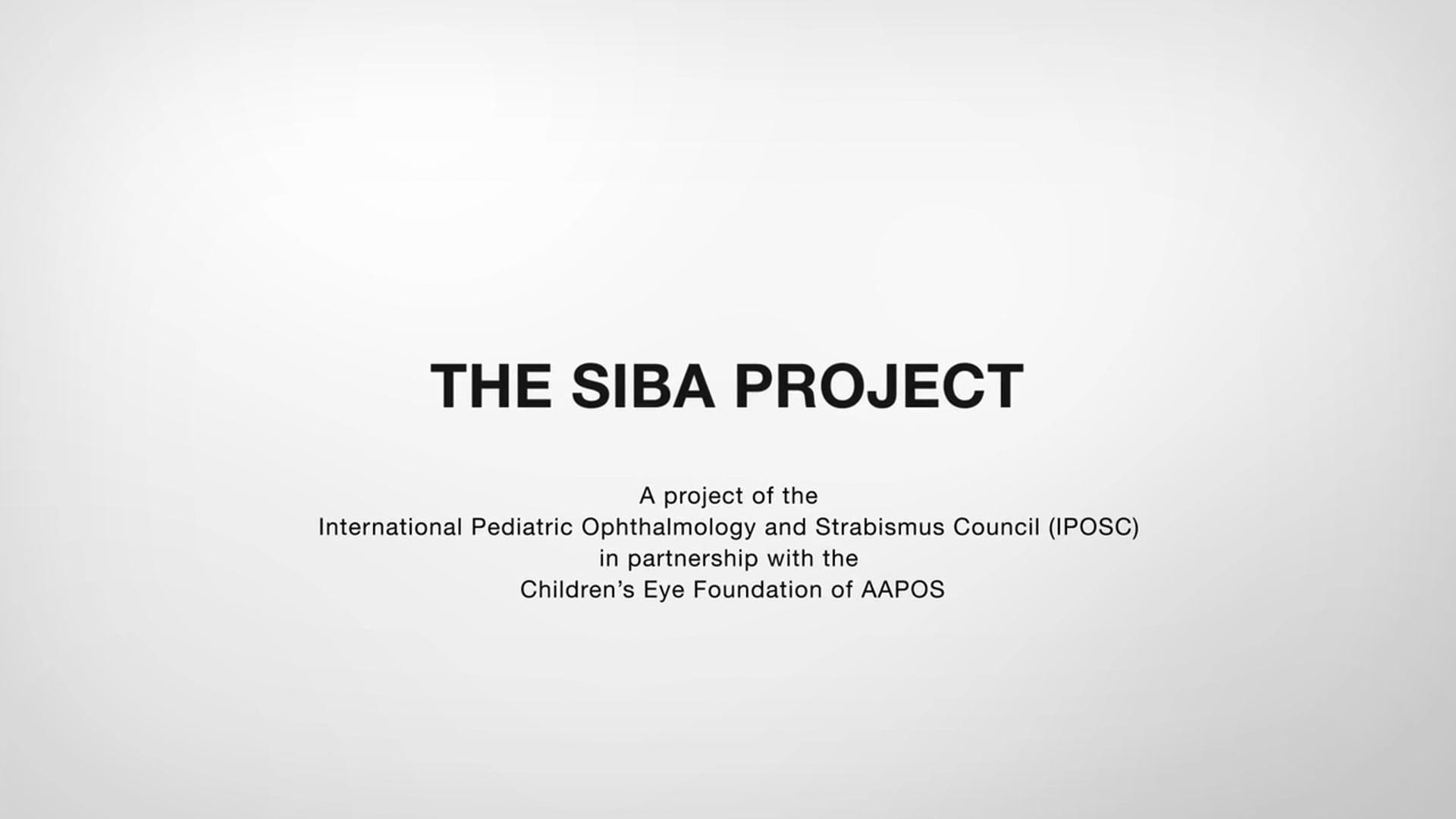 THE SIBA PROJECT (TRT 5:30)