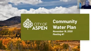 Community Water Plan Engagement One