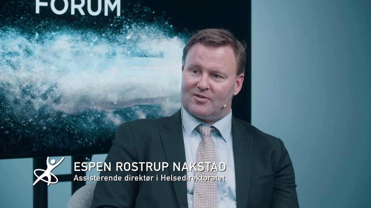 Lederprisvinner Espen Rostrup Nakstad på HR Forum 2020
