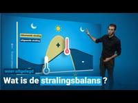 Wat is de stralingsbalans?