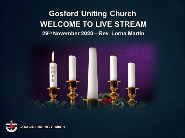 29th November, 9:00 a.m. - Rev Lorna Martin