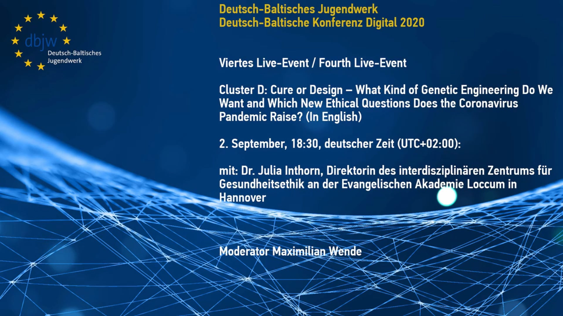 DBKDigital20 Keynote Cluster D