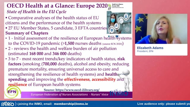 Elizabeth Adams, EFN - Opening Address, PHN Conference