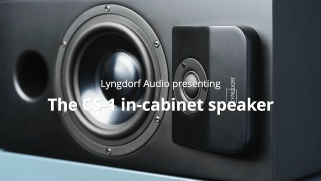 Lyngdorf CS-1 compacte tweeweg luidspreker