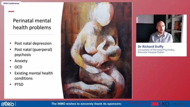 Dr Richard Duffy - Perinatal Mental Health, PHN Conference