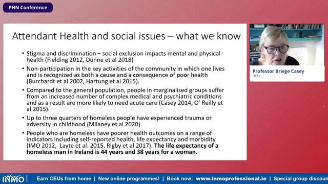 Dr Briege Casey - Nurses and Midwives Working with Marginalised Groups