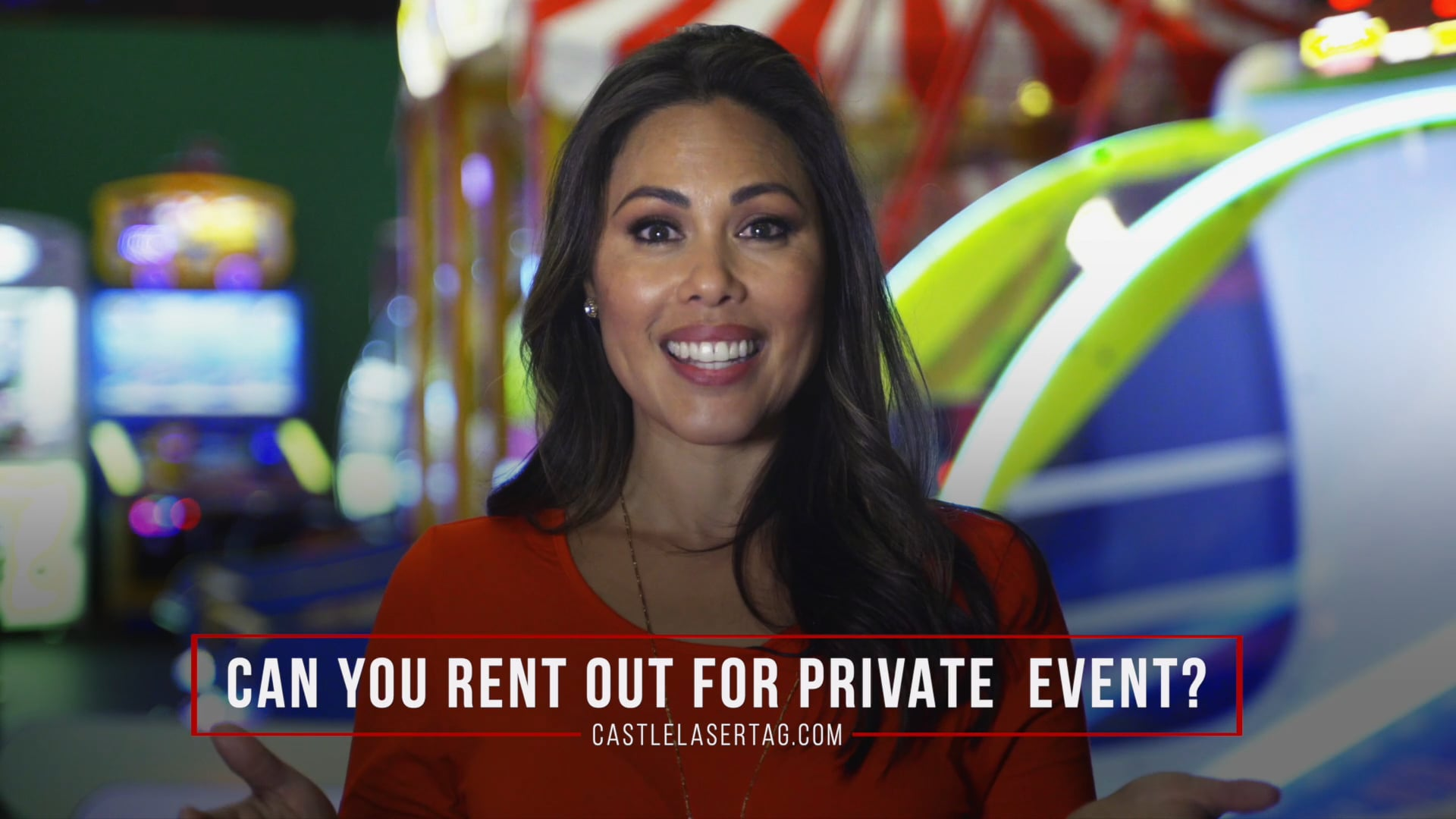 Can you rent out Castle Laser Tag for a private event?